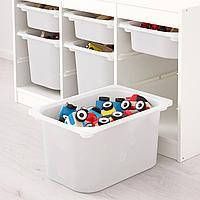 Комбинация д/хранения+контейнеры, белый, белый, 99x44x56 см