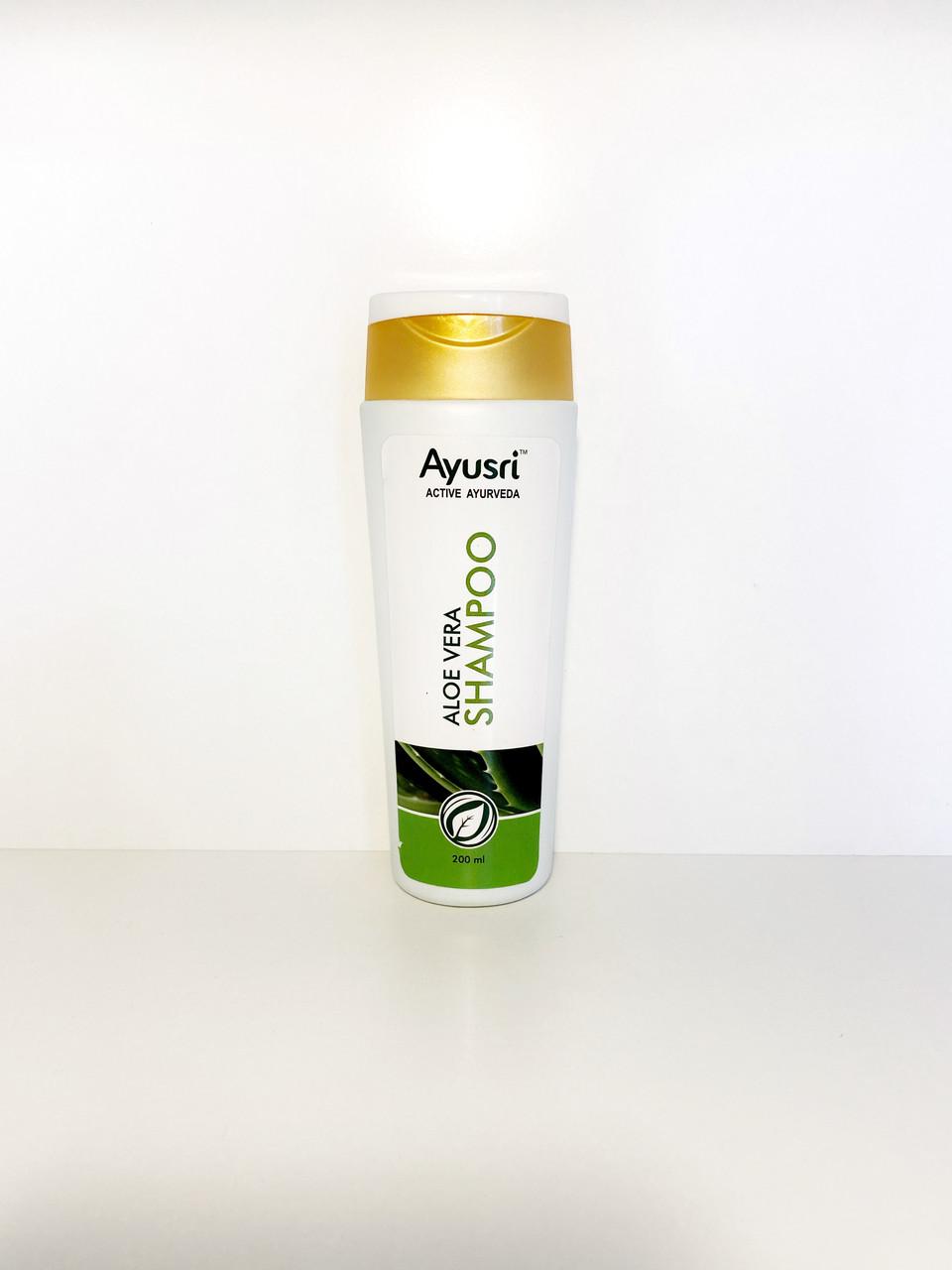 Аюрведический шампунь для волос с Алое вера 200 мл, Ayusri