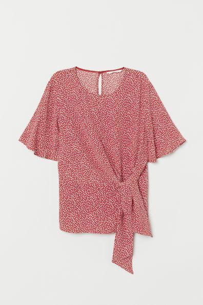 H&M Женская блуза с узлом 07331069