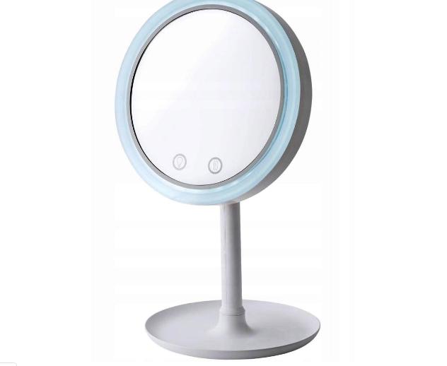 Зеркало настольное с вентилятором и подсветкой от USB