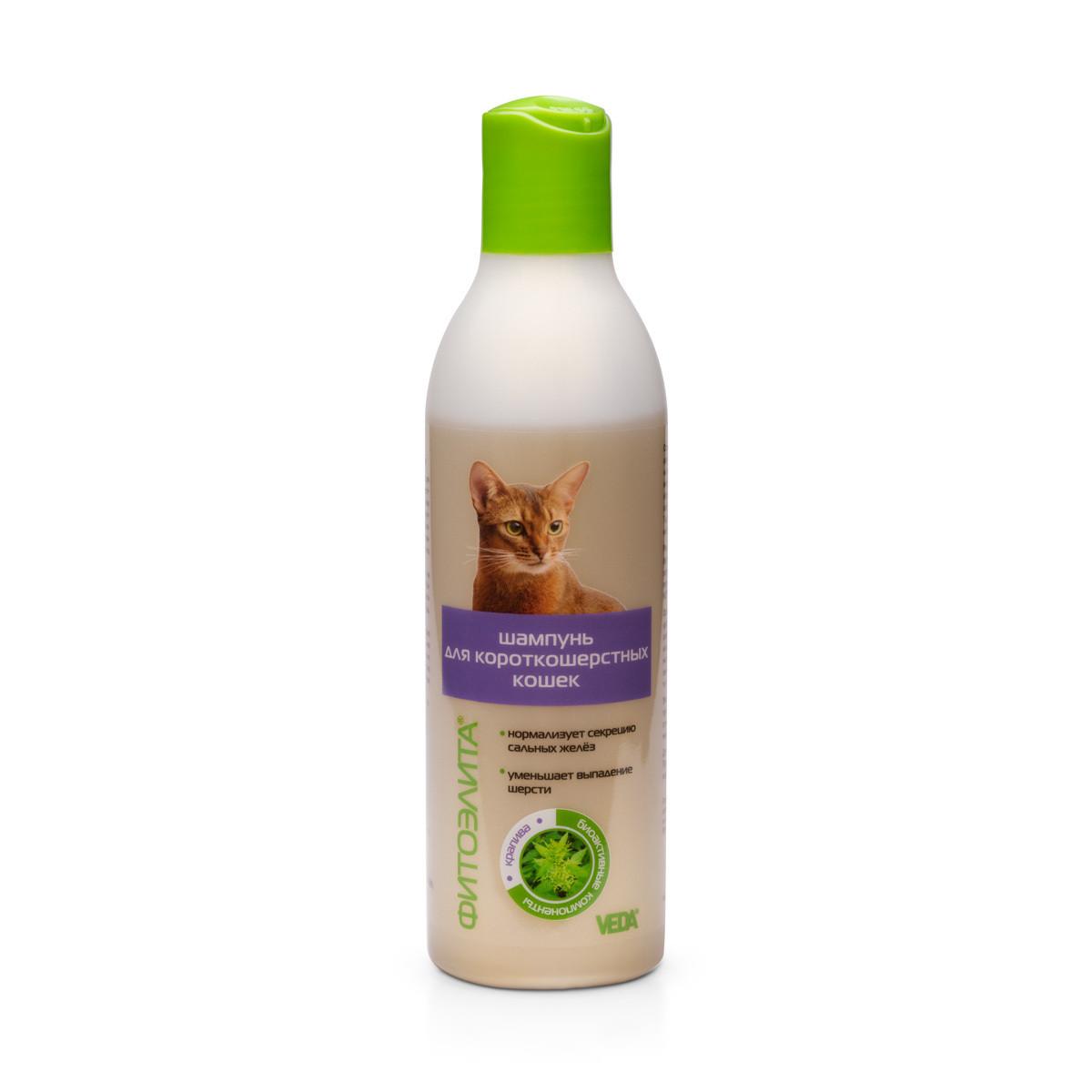 Шампунь Фитоэлита для короткошерстных кошек