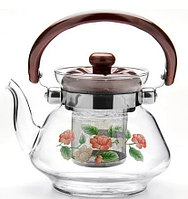 Чайник заварочный 0,7л Tea and Coffee pot MS-12B серый