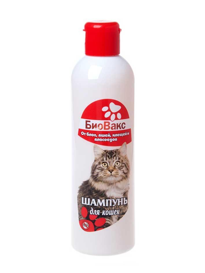 Шампунь Биовакс от блох и клещей для кошек