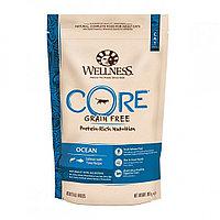 Сухой беззерновой корм для кошек Wellness Core Ocean с лососем и тунцом