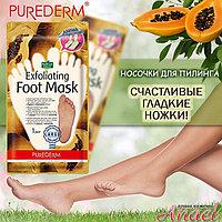 Носочки-маски для пилинга Purederm Exfoliating Foot Mask