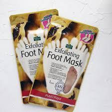 Носочки-маски для пилинга Purederm Exfoliating Foot Mask, фото 2