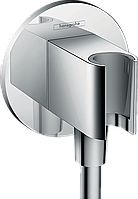 Hansgrohe FixFit Шланговое подсоединение S с держателем (26487000)