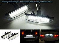 Лэд лампа номерного знака на Toyota Camry V50/55 2011-17, фото 1
