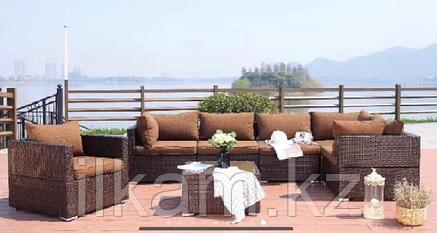 Комплект мебели угловой диван, кресло , квадратный журнальный столик, фото 2