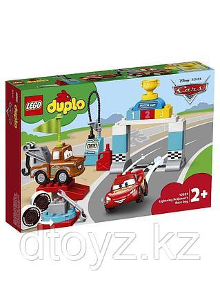 Lego Duplo 10924 Disney Cars Гонки Молнии МакКуина