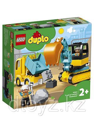 Lego Duplo 10931 Грузовик и гусеничный экскаватор