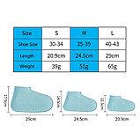 Чехлы на обувь силикон от дождя, на размер обуви 40-43, фото 6