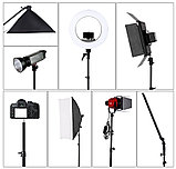 Штатив для кольцевых ламп, фото и видео аппаратуры, фото 3
