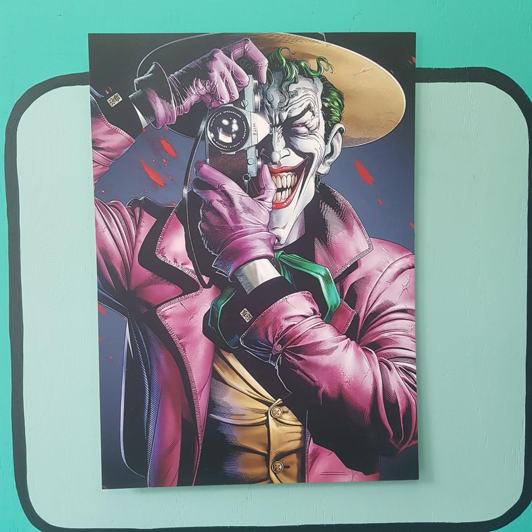 Постер Убийственная Шутка (Джокер)