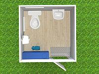 Туалетный модуль автономный для МНГ T-61-А
