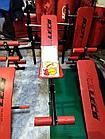 Скамья для пресса изогнутая с дополнительными приспособлениями 9000 тенге! Распродажа, фото 3