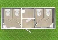 Туалетный модуль Т-9