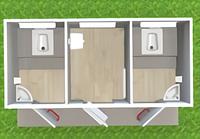 Модульный туалет Т-14