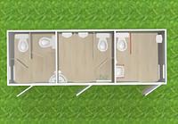 Туалетный модуль(с доп.помещением для МНГ) Т-16