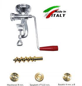Макаронница лапшерезка NEW Omra OM4002 ручной механический макаронный экструдер пресс для изготовления макарон