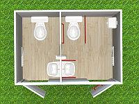 Туалетный модуль Т-101