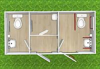 Туалетный модуль Т-101-К