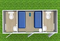 Туалетный автономный модуль Т-110-АТ