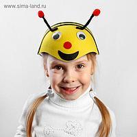 Шляпа карнавальная «Пчёлка с глазками», р-р. 52-54