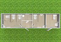 Туалетный модуль Т-321-К