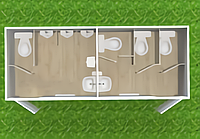 Туалетный модуль Т-430
