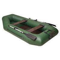 Лодка 'Дельта-275', 275 х 141 см, транец  слань цвет зелёный