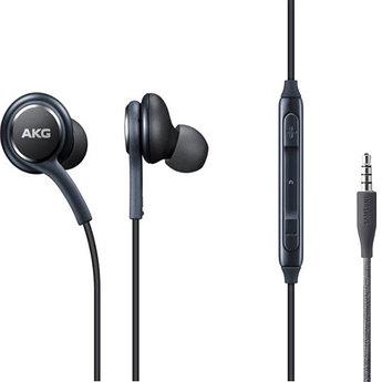 Наушники проводные с микрофоном SAMSUNG AKG Black Качество А (без упаковки)
