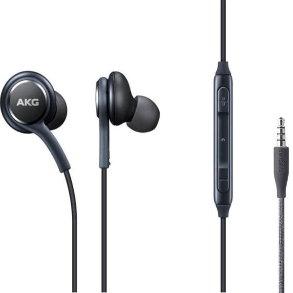 Наушники проводные с микрофоном SAMSUNG AKG Black Качество АА (без упаковки)