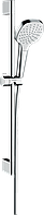 Hansgrohe Croma Select E Душевой набор 1jet EcoSmart 9 л/мин со штангой 65 см (26585400)
