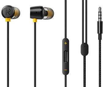Наушники проводные с микрофоном Realme RMA 155 Buds2 Black