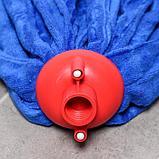 Насадка для швабры ленточная Доляна, микрофибра 200 гр, цвет МИКС, фото 2