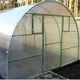 Каркас теплицы «Базовая» , 6 × 3 × 2,1 м, оцинкованная сталь, профиль 20 × 20 мм, шаг 1 м, 0,8 мм, без поликарбоната, фото 2