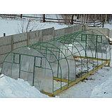 Каркас теплицы «Комфорт», 4 × 3 × 2,1 м, оцинкованная сталь, профиль 20 × 20 мм, шаг дуг 65 см, 1 мм, без поликарбоната, фото 2