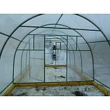 Каркас теплицы «Комфорт», 6 × 3 × 2,1 м, оцинкованная сталь, профиль 20 × 20 мм, шаг дуг 65 см, 1 мм, без поликарбоната, фото 3