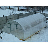Каркас теплицы «Комфорт», 8 × 3 × 2,1 м, металл, профиль 20 × 20 мм, шаг дуг 65 см, 1 мм, без поликарбоната, фото 4