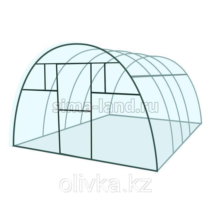 Каркас теплицы «Премиум», 6 × 3 × 2,1 м, металл, профиль 20 × 40 мм, шаг дуг 65 см, 1,5 мм, без поликарбоната