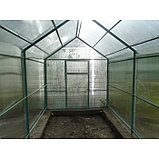 Каркас теплицы «Домик», 6 × 3 × 2,3 м, металл, профиль 40 × 20 мм, шаг 1 м, 1 мм, без поликарбоната, фото 3