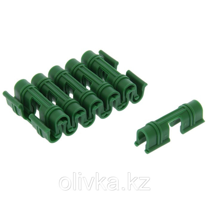 Зажим для крепления укрывного материала, d = 10 мм, набор 12 шт.