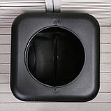 Бак для душа, 150 л, с крышкой, с резьбой под кран, чёрный, фото 6