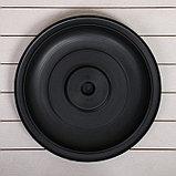 Бак для душа, 150 л, с крышкой, с резьбой под кран, чёрный, фото 9
