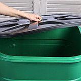 Бочка-бак пищевая «Помощник», 250 л, горловина 61 см, с крышкой, МИКС, фото 3