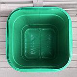 Бочка-бак пищевая «Помощник», 250 л, горловина 61 см, с крышкой, МИКС, фото 4