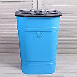 Бочка-бак пищевая «Помощник», 250 л, горловина 61 см, с крышкой, МИКС, фото 9