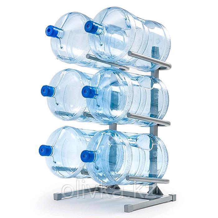 Стойка для бутилированной воды, для 6 бутылей