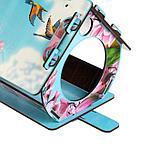 """Кормушка декорированная """"Розовые лепестки"""", цветная, 28×19×17 см, фото 3"""